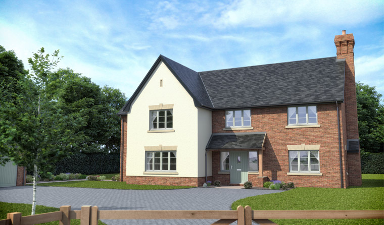 New Homes for Sale in Tibberton | Days New Homes